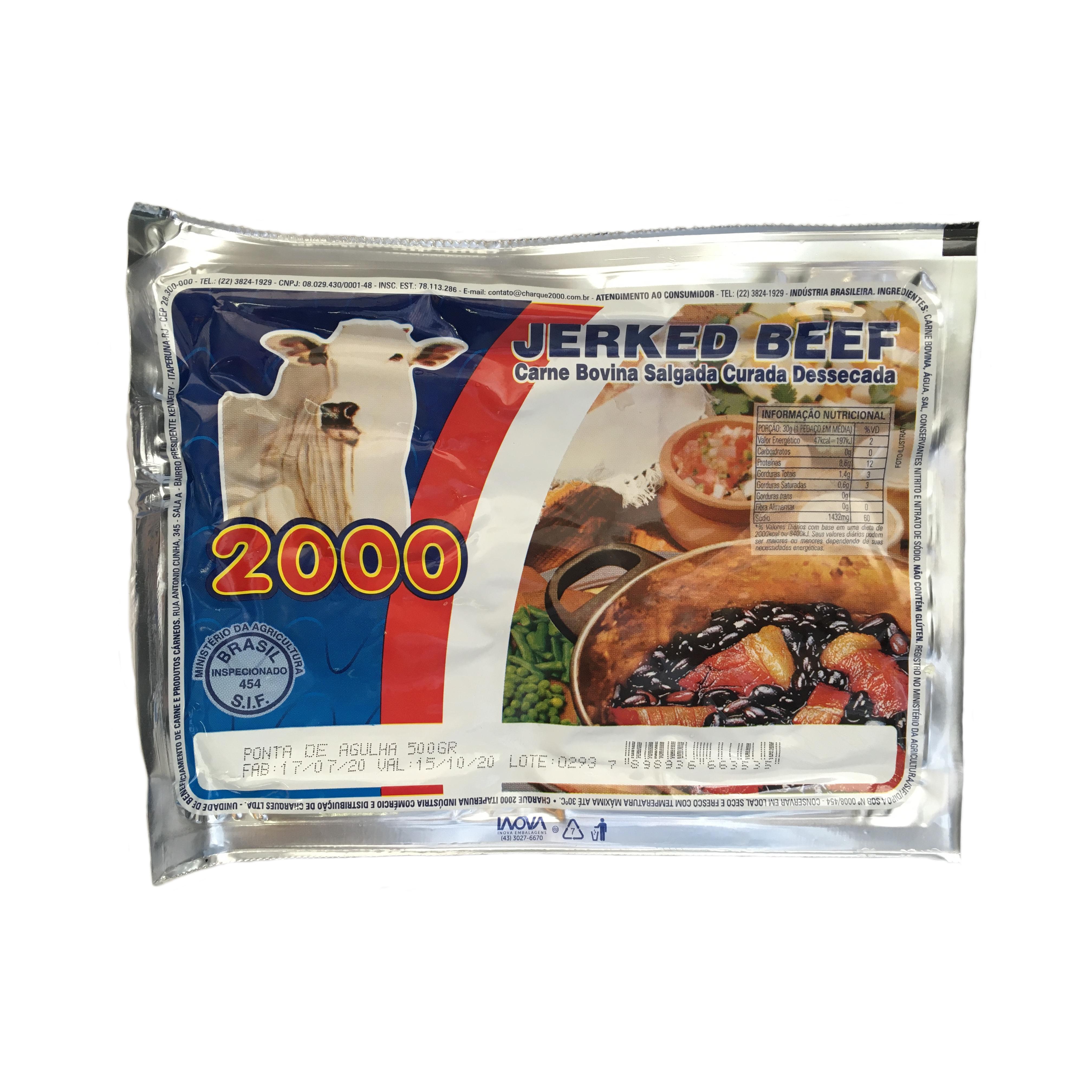 Charque Jerked Beef PA PC 500 g Kadão