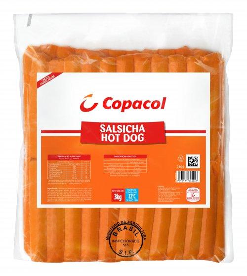 Salsicha Hot Dog Copacol