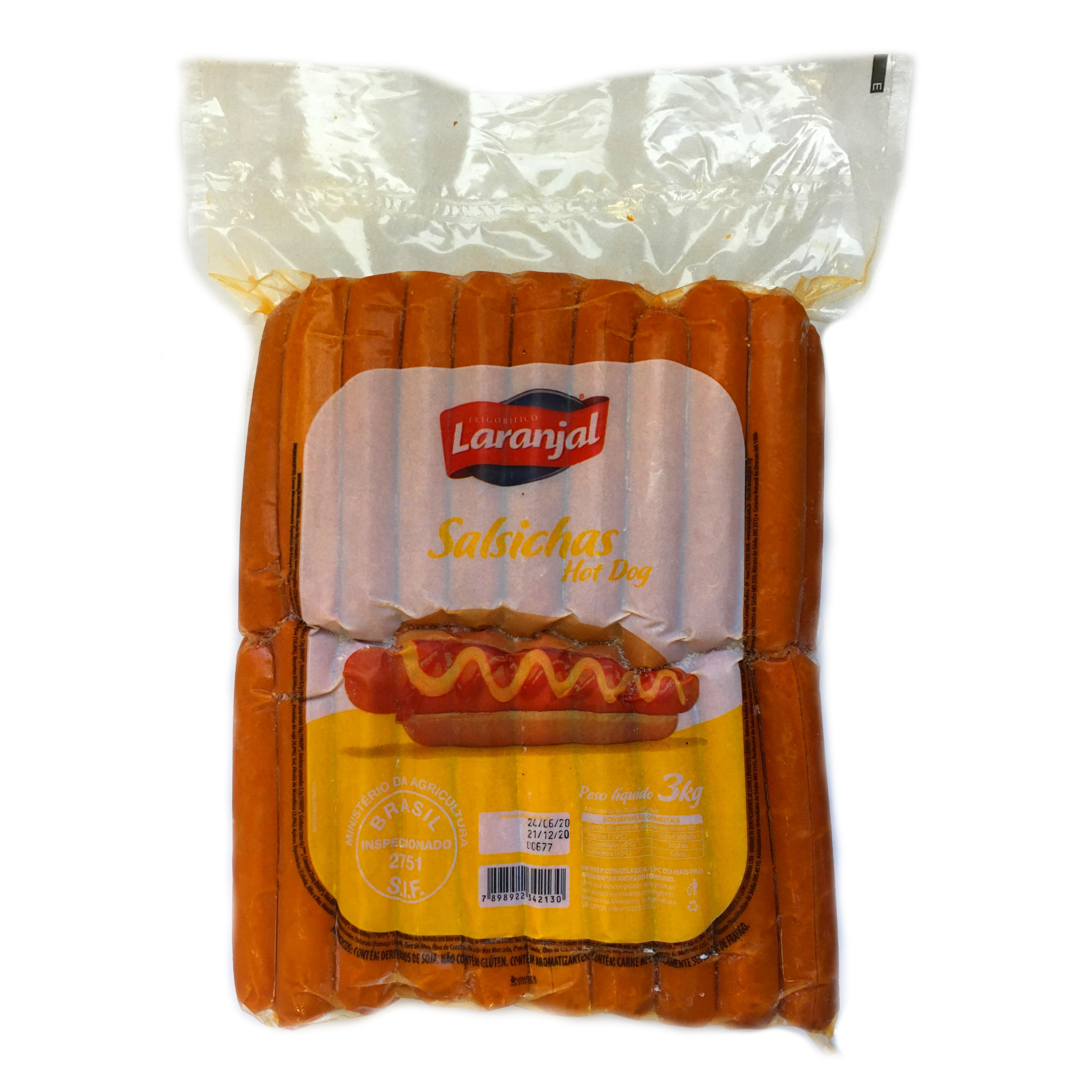 Salsicha Hot Dog Laranjal