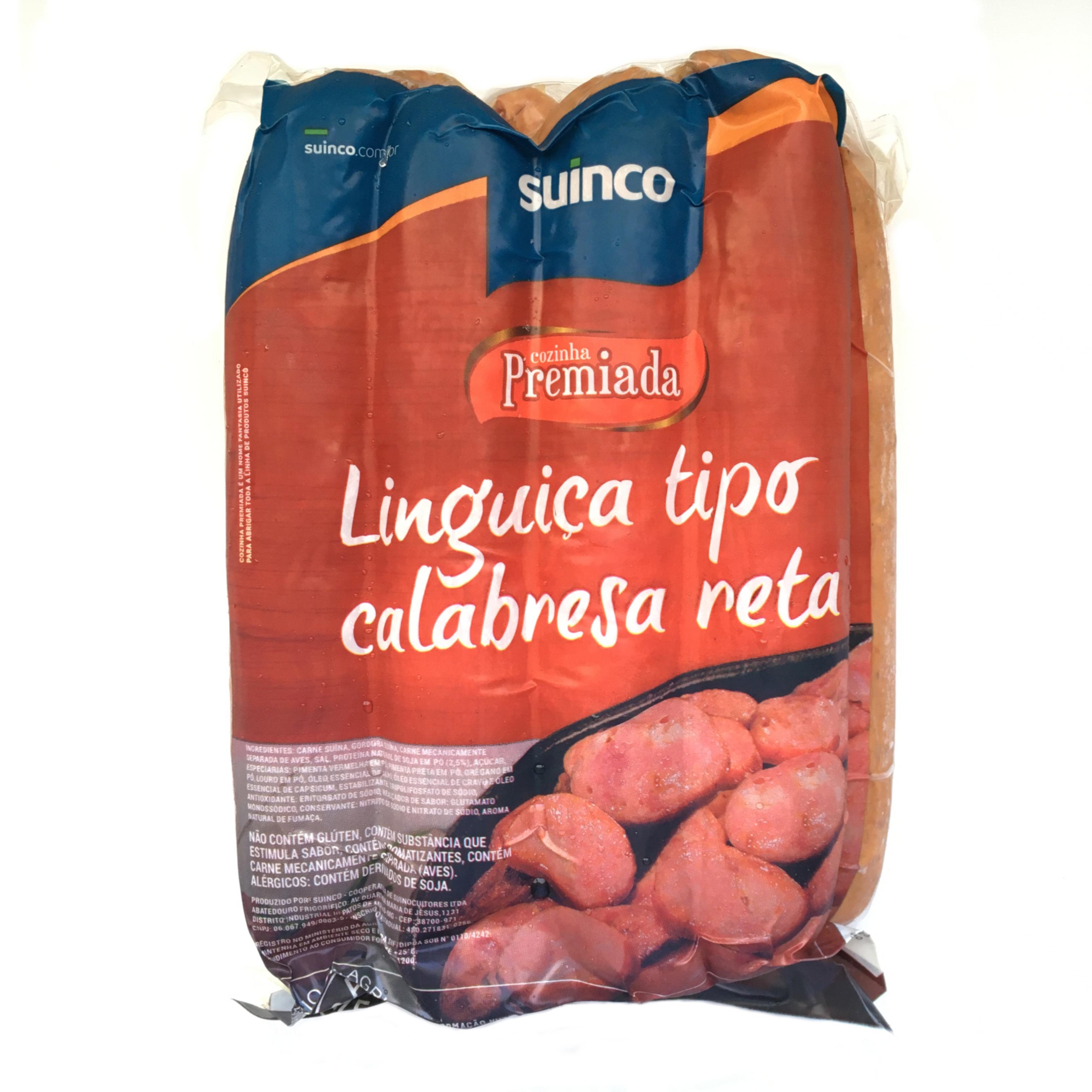 Linguiça Calabresa Reta Suinco